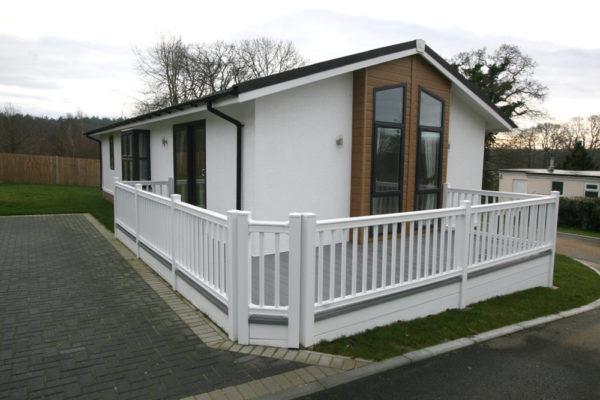 External with veranda